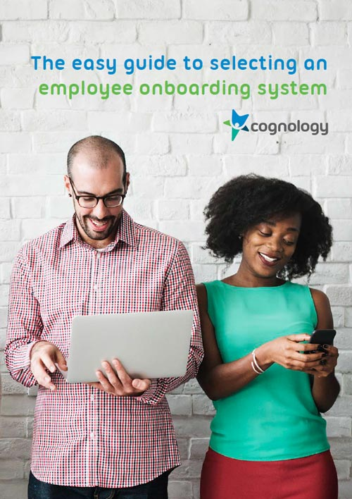 Guide to an Employee Onboarding System cover